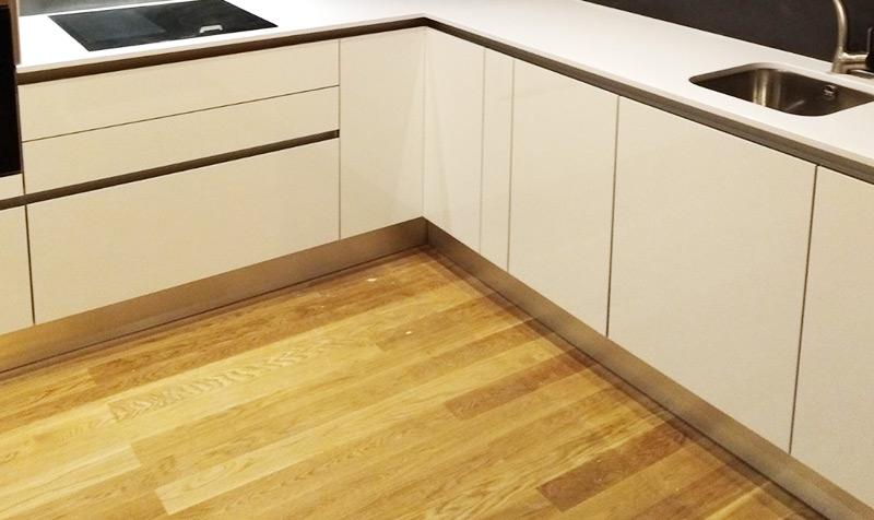 Remodelação do pavimento de cozinhas