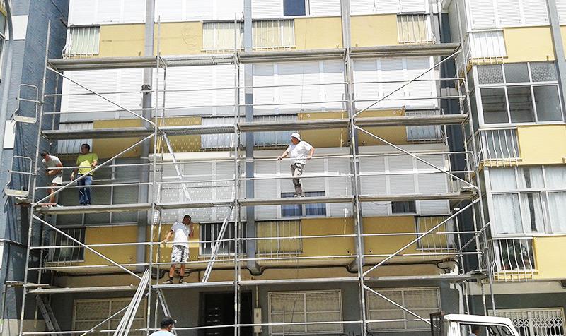 Serviços prestados na pintura de casas Alcabideche