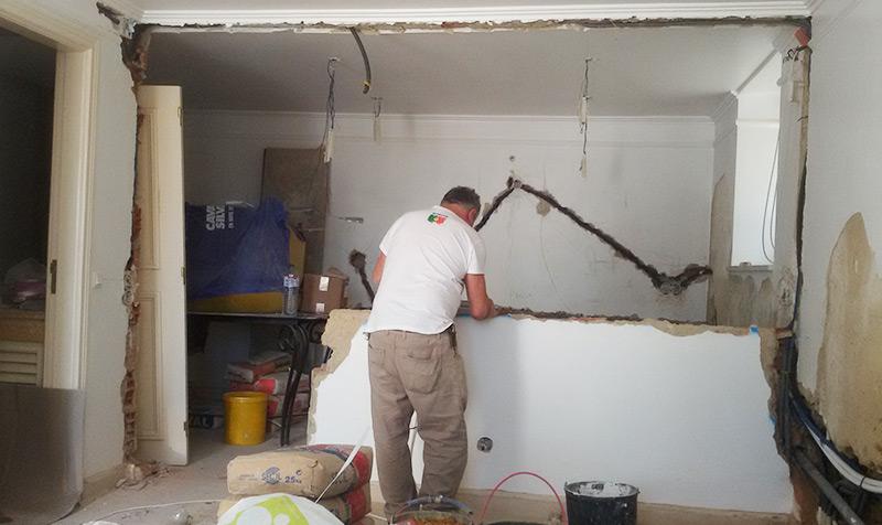 Empresas de remodelação de apartamentos em Moinhos da Funcheira