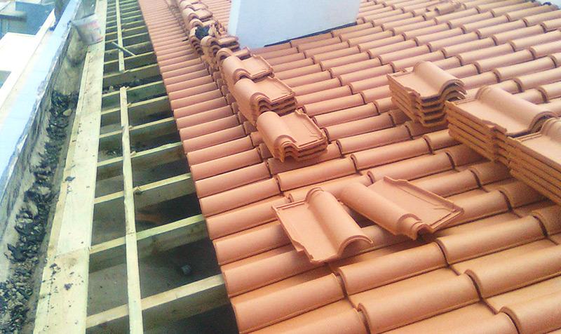 Telhados em madeira em Alverca