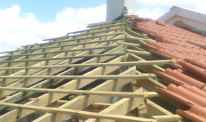 Reparação de telhados em madeira em Alverca