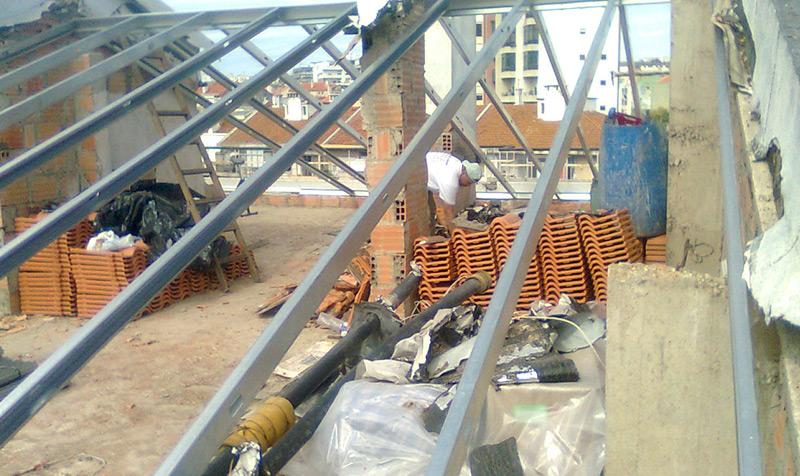 Reparação, isolamento e impermeabilização de telhados em Sassoeiros