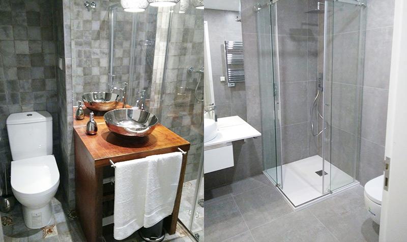 Em que consiste uma remodelação de casas de banho em Alcabideche